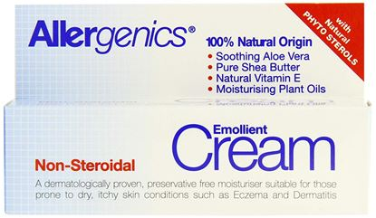 Picture of Allergenics Natural Emollient Non-Steroidal Cream 50ml