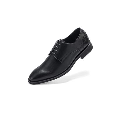 Picture of Men's Wingtip Dress Shoes Formal Oxfords Black