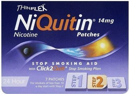 Picture of NiQuitin 14mg Patches 24 Hour Step 2 7 Patches