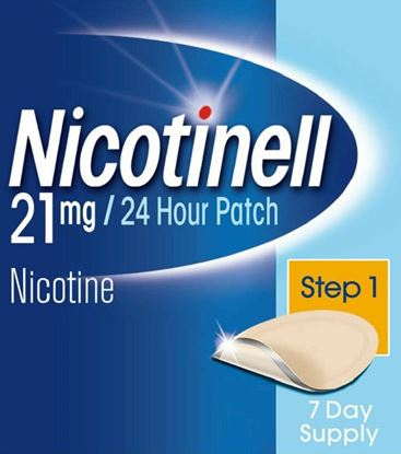 Picture of Nicotinell 21mg 24 Hour Patch Step 1 35 Day Supply