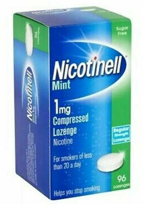 Picture of Nicotinell 96 Lozenge Mint 1mg