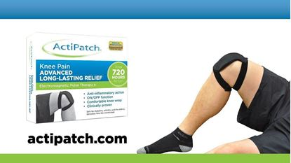 Picture of ActiPatch Knee Pain Therapy Device