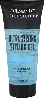 Picture of Alberto Balsam Ultra Strong Styling Gel, 200ml