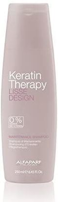 Picture of Alfaparf Milano Keratin Therapy Lisse Design Maintenance Shampoo, 250 ml