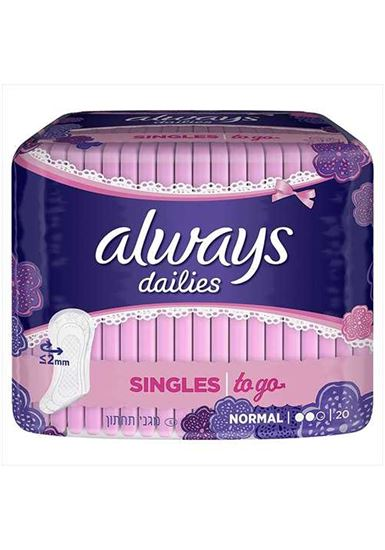 Picture of Always Dailies single liners to go x20
