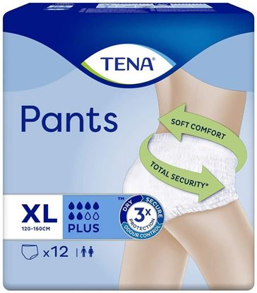 Picture of TENA PANTS PLUS EXTRA LARGE12