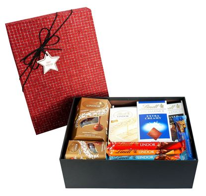 Picture of Hamper Gift Selection Gift Box Present for -  Chocolate Favourite Lindt Treats Set 4