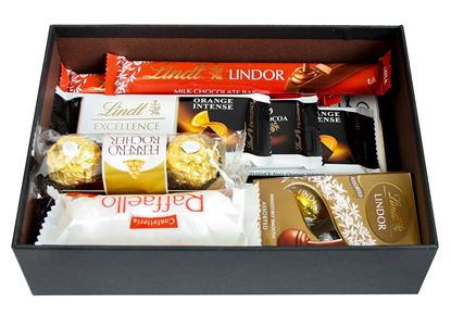 Picture of Hamper Gift Selection Gift Box Present for -  Chocolate Favourite Lindt Treats Set 3