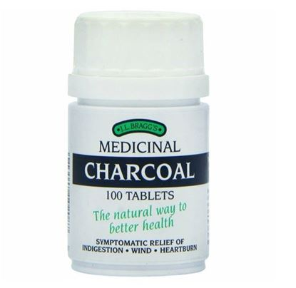 Picture of Bragg'S Charcoal Tablets 100
